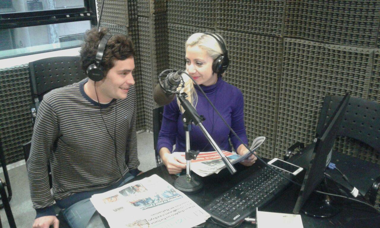 El estudio de radio de ArInfoPlay