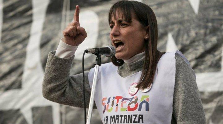 """Romina del Pla: """"Los que han firmado la reforma laboral no pueden negociar las paritarias"""""""