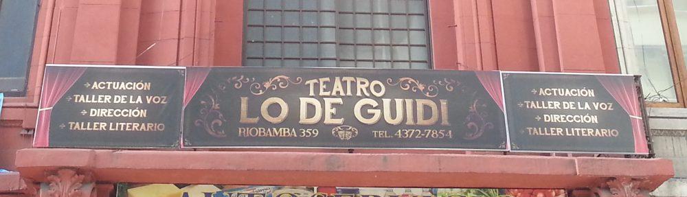 """""""Lo de Guidi"""", un teatro que busca la reconexión con la comunidad"""