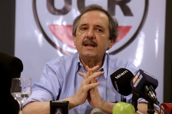 """Ricardo Alfonsín: """"La UCR ha incurrido en el grave error de descuidar la dimensión ideológica del partido"""""""