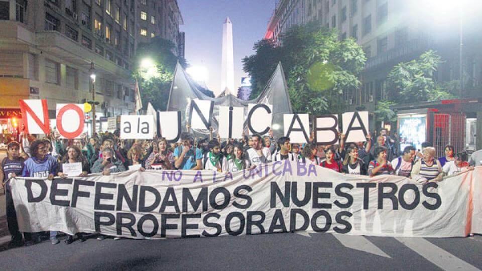 Sigue la lucha de la comunidad educativa contra la UniCABA