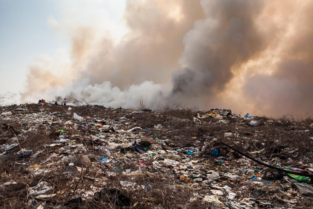 La Ciudad vuelve a quemar basura: qué peligros supone