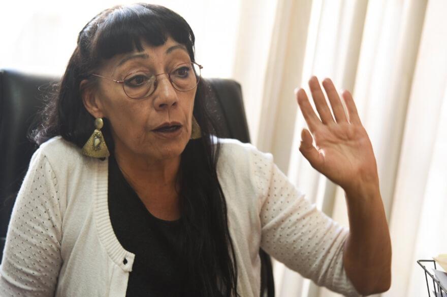 """María del Carmen Verdú: """"Hay más de un muerto por día por el gatillo fácil y la tortura"""""""