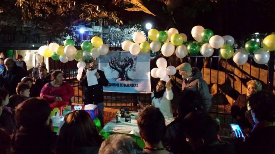 La emocionante historia del comedor el Gomero de Barrancas de Belgrano