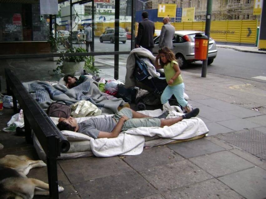 Cuáles son los números reales sobre las personas en situación de calle en la Ciudad de Buenos Aires