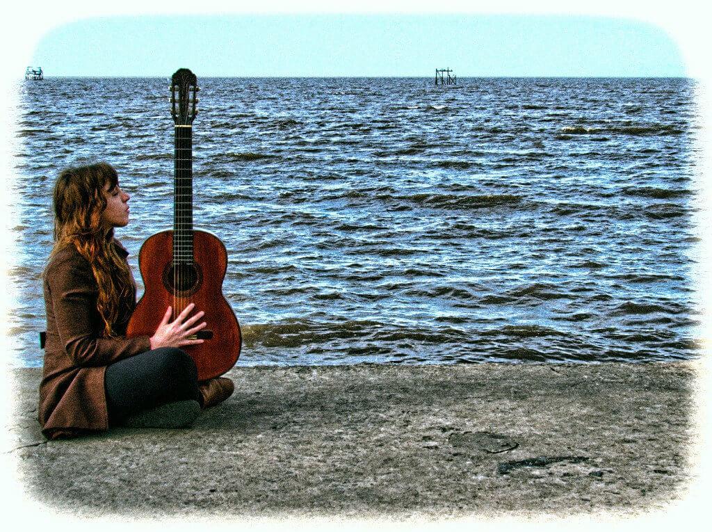 Lina Agrima, la guitarrista inspirada en Nirvana que hoy es referente de la música rioplatense