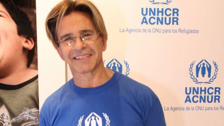 El compromiso de Osvaldo Laport con los refugiados