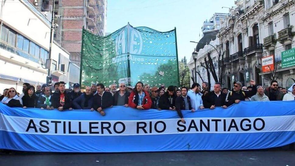 """La situación de los trabajadores del Astillero Río Santiago: """"El Gobierno busca demonizarnos"""""""