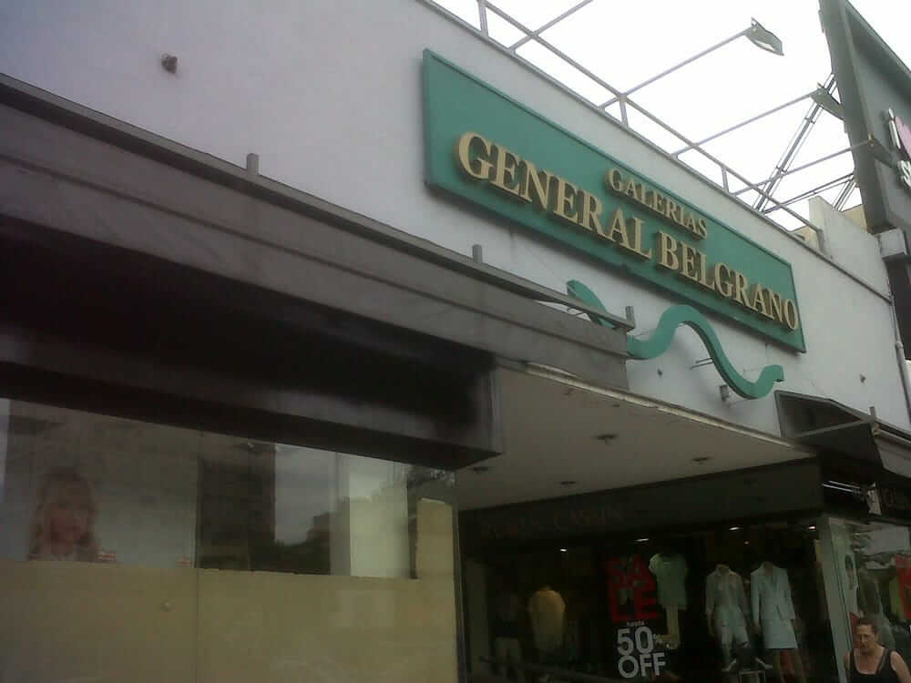 La historia de la galería General Belgrano
