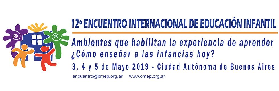 Se viene el 12° Encuentro Internacional de Educación Infantil