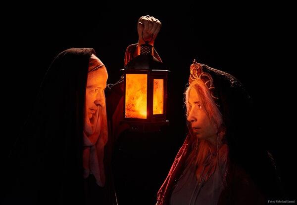 """""""Estrategia de la luz"""", una obra que narra el encuentro entre Juana La Loca y Teresa de Ávila"""