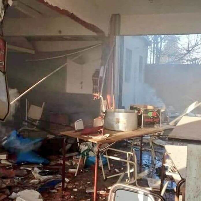 A un año de la explosión de la escuela de Moreno, habló la esposa del auxiliar fallecido