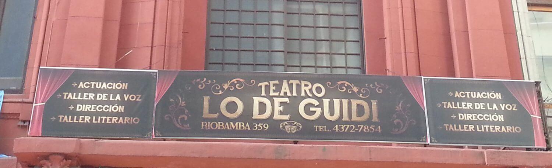 Teatro Escuela Lo de Guidi, un espacio para la comunidad