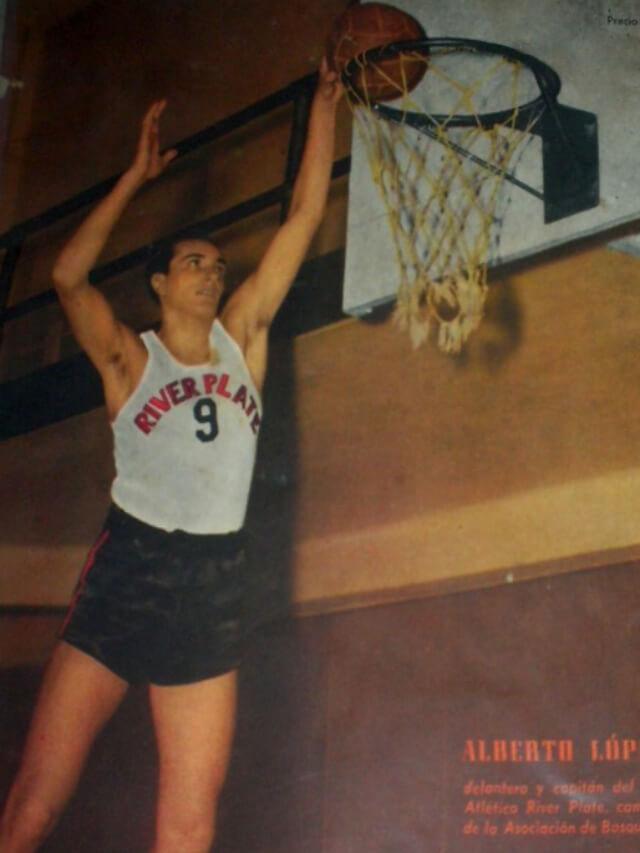 La historia de Alberto López, el basquetbolista perseguido por la Revolución Libertadora
