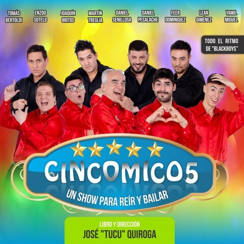 """""""Cincomico5"""": un show para toda la familia que fusiona sketchs y baile"""